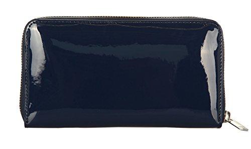 Armani Jeans 928532cc855, Portafoglio Donna, 2x10x19 cm Blu