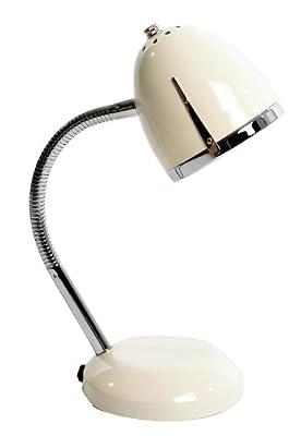 Tischlampe Flex creme- silber Retro- Stil Lisbeth Dahl von Lisbeth Dahl auf Lampenhans.de