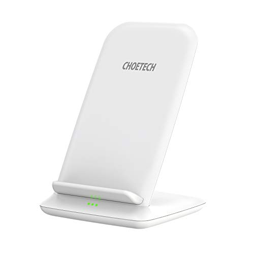 43b3d249ec0 Cargador Inalámbrico Rápido CHOETECH Fast Wireless Charger Qi Cargador 7.5W  Compatible con Apple iPhone XS