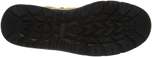 Magnum Herren Precision Sitemaster Composite Toe & Plate Waterproof Sicherheitsstiefel, 3-4 Jahre Beige (Wheat Suede 045)