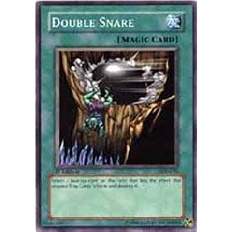 Yu-Gi-Oh! - Double Snare (LOD-015) - Legacy of Darkness - 1st Edition - Common by Yu-Gi-Oh!