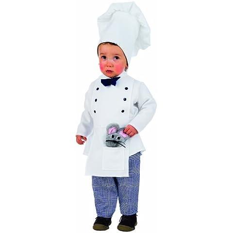 Limit Sport ms2048asu-mb229–Baby Costume Piano 3pezzi (pantaloni, cappello, camicia con grembiule) - Lima Cappello