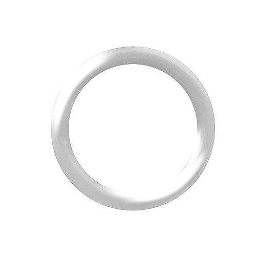 (Piersando Ersatz Silikon Gummi O-Ring Ring Haltering Gummiring Stab Stecker Taper Dehner Expander Dehnstäbe 5,0mm clear)