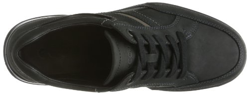 ECCO Transporter, Scarpe Stringate Basse Derby Uomo Nero (Black/Warm Grey 54944)