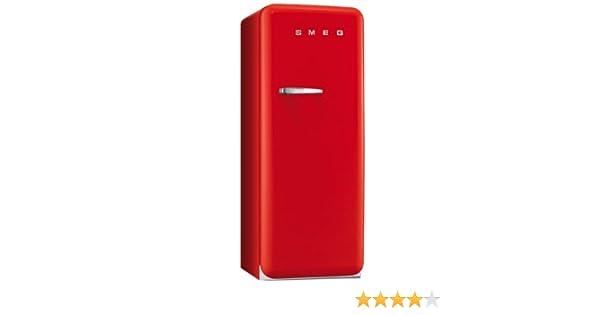 Retro Kühlschrank Von Smeg : Smeg fab28rr1 standkühlschrank a 248 l rot mit