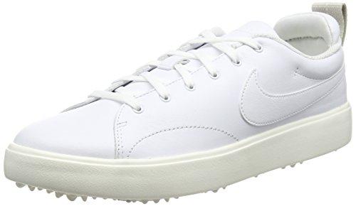 Nike Course Classic, Chaussures de Golf Homme, Blanc (Blanco 100), 42.5 EU