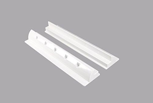 Preisvergleich Produktbild enjoysolar® ABS Solarmodul Haltespoiler Halterung 55cm spezial für Wohnmobile Caraven