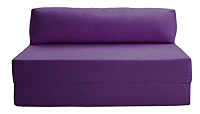 JAZZ SOFABED - PURPLE Deluxe Double Sofa Bed - inexpensive UK sofabed store.