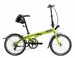 Original MINI Folding Bike Fahrrad / Klapprad / Faltrad Lime...