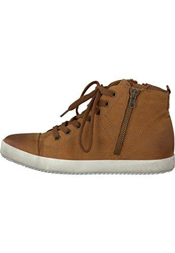 Tamaris cuir Sneaker Brown 1-26285-27 455 Cuoio Cuoio