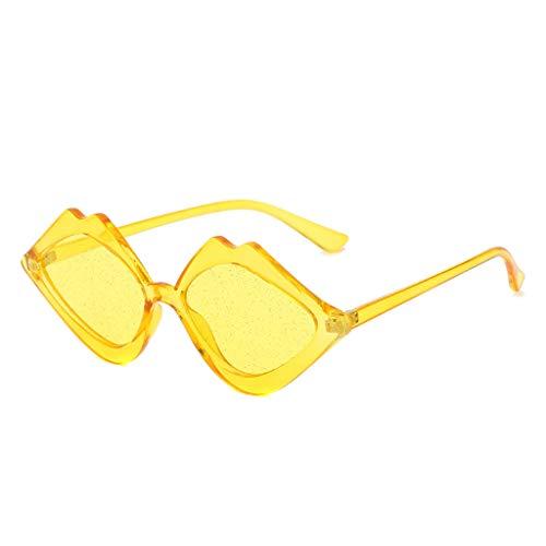 Igemy Männer Vintage Sonnenbrillen Mode Strahlenschutz Brillen (D)