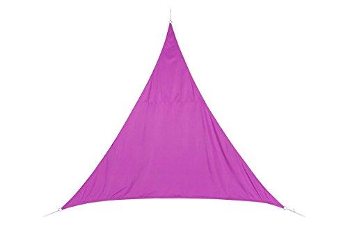 Voile d'ombrage Triangulaire (L4m) Curacao Violet