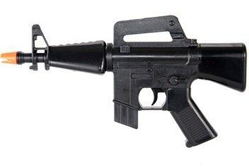 HFC Softair Pistole HB-101 Mini Voll Automatisch Elektrisch schwarz AEG unter 0.5 Joules 0,12g Hop Up ab 14 Jahre Softair-Gewehr - Shotgun Pump Gun Air