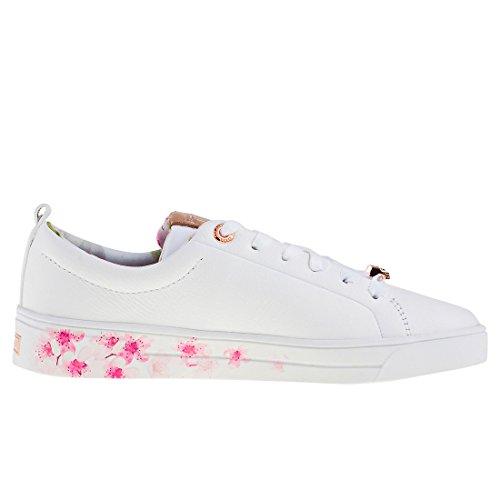 Ted Baker Damen Kelleip Sneaker White