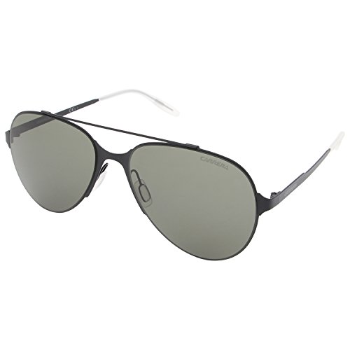 Carrera UV Protected Aviator Men's Sunglasses - (CARRERA 113/S 003 57QT|57|Black Color)