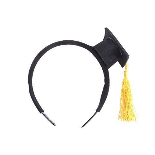 Amosfun Doktorhut Haarreif Stirnband Haarband Kopfschmuck Kopfbedeckung für Kinder Erwachsene Abschluss Party Kostüm Zubehör - Lustige Doktor Kostüm