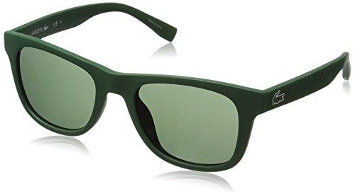 Lacoste l790s, montature unisex-adulto, verde (matt green), 52.0