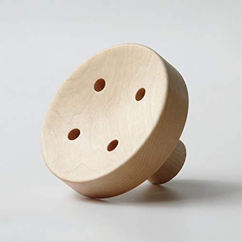 Ganchos colgadores Perchero pared madera