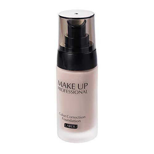 Frcolor 40 g de blanchiment blanchissant Fondant Liquide correcteur de Teint Huile-contrôle Maquillage cosmétique imperméable à l'eau