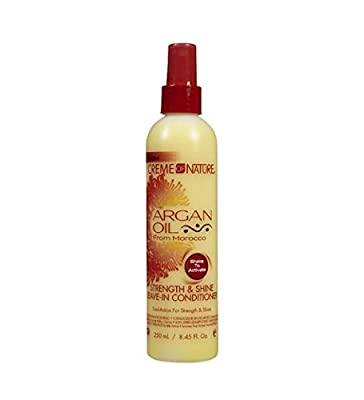 Creme of Nature Argan Oil Conditioner Leave-In 250 ml (Pack of 3) by Creme of Nature