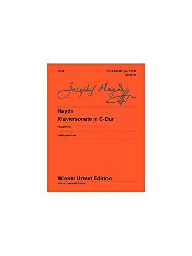 Piano Sonata in C major: Hob. XVI:48 (Wiener Urtext Edition)