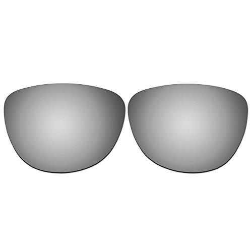 ACOMPATIBLE Ersatz-Objektive für Oakley Jupiter LX Sonnenbrille, Titanium Mirror - Polarized