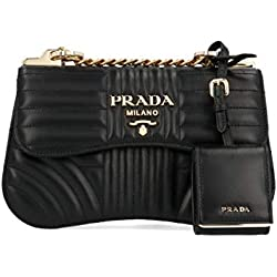 Prada Luxury Fashion Mujer 1Bd201vcox2d91f0632 Negro Bolso De Hombro   Autumn-Winter 19