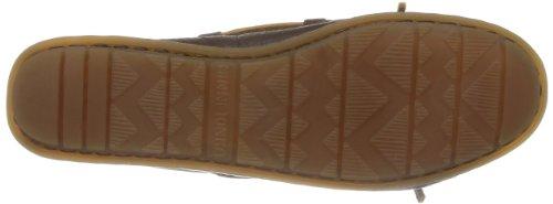 Minnetonka Boat, Mocassins Femme Marron (Chocolate)