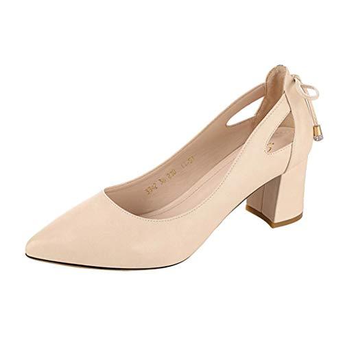 Zapatos de tacón bajo de mujer, Covermason Sandalias planas de...