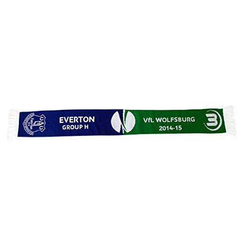 VfL Wolfsburg––Bufanda–Encuentro–fc Everton
