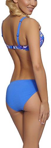 Feba Push Up Bikini per Donna Daniela Modello-08DK