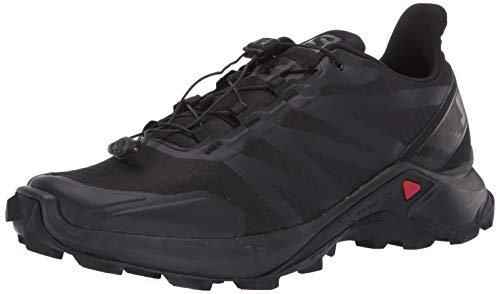 Salomon Supercross - Scarpa Trail Running Uomo (Black/Black/Black) Cos 409300 (EU 46 - UK 11 - US 11.5 - CM 29.5)