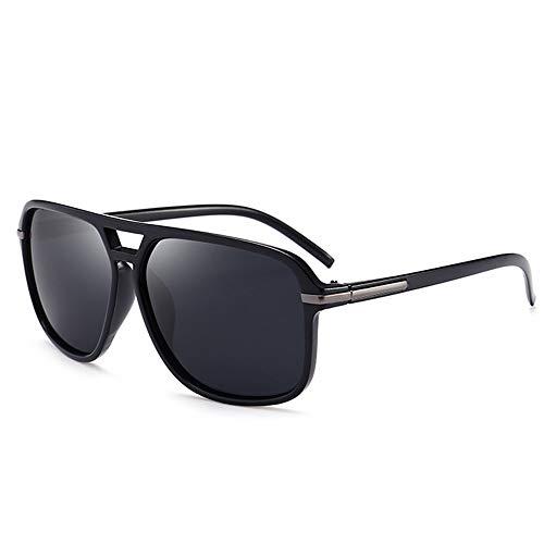 B BIDEN Herren Mode Retro Quadrat polarisierte Sonnenbrille, Im Freien Cool Brillen mit Schutzlinse für Sport und Fahren