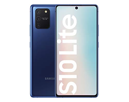 Samsung Galaxy S10 Lite - Smartphone de 6.7' FHD+ (4G, 8GB RAM, 128GB ROM, cámara trasera 48MP+12MP(UW)+5MP(Macro)+5MP, cámara frontal 32MP, Octa-core Snapdragon8150), Prism Blue [Versión española]