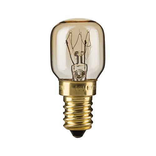Paulmann 820.11 Birnenlampe Backofen 25W E14 300° Glas Klar 82011 Leuchtmittel -
