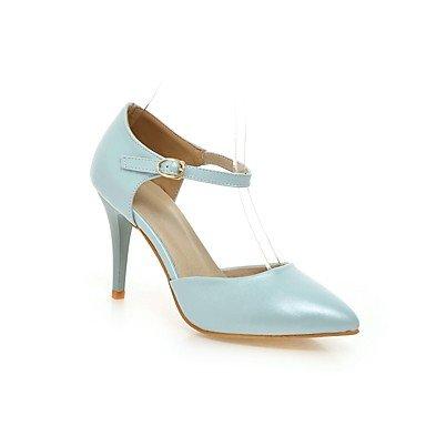 LvYuan Da donna-Sandali-Tempo libero Ufficio e lavoro Casual-Altro-A stiletto-PU (Poliuretano)-Blu Rosa Bianco Blue