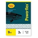 Rio: Powerflex Trout Leaders, 3 Pk, 9ft 7X by Rio Brands