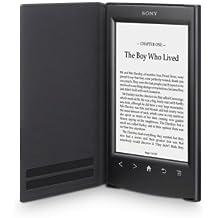 SONY Sony PRSA-SC22 - Tapa protectora negra para lector de eBook - piel sintética, policarbonato, plástico ABS - negro