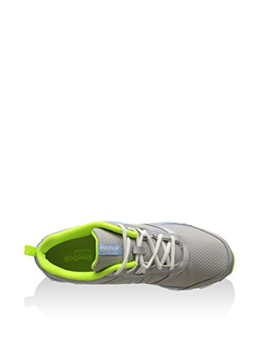 Reebok Hexaffect Run Silver Denim Yellow White Sportschuhe Silver Denim Yellow White