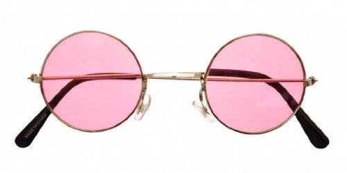Lennon Specs: Pink Lenses for Party Favour