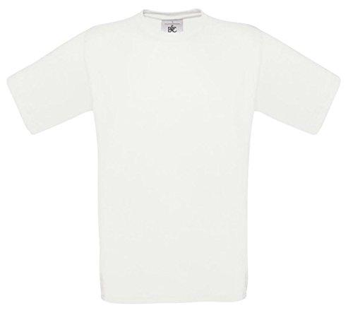 B&CHerren T-Shirt Weiß - Weiß