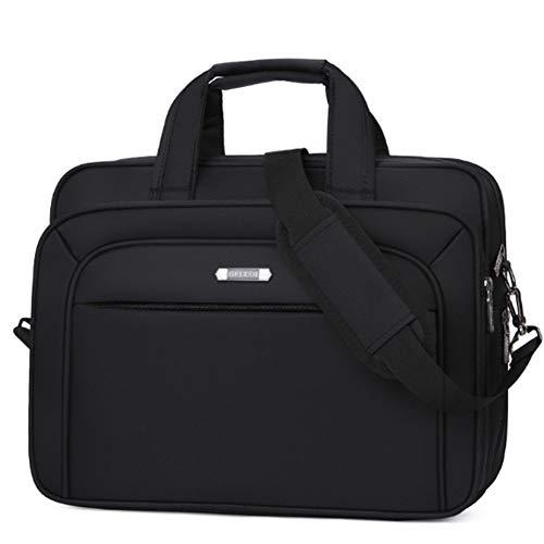 15,6-Zoll-wasserdichter Laptop-Hülsen-Beutel-Kasten mit Handgriff-Reißverschluss-Taschen-Handtaschen-Geschäfts-Aktenkoffer-beweglicher Handtasche,Black-OneSize - Acer-notizbuch-ladegerät