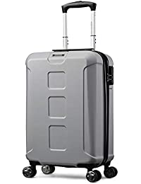 Z/&YY New Trolley case Luggage wear-Resistant Scratch-Resistant Universal Wheel Luggage Lock Box Business Boarding Chassis 20//24//28 inches Color : Silver, Size : 28 inches