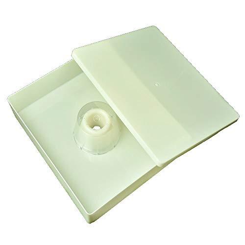 APIFORMES Mangeoire carrée 6 kg pour sachets | Sac en polystyrène | Sac en Bois | Sac en Plastique | Sac de Nourriture | api | apifonda | apiinver | Imkerei | Imkereibedarf