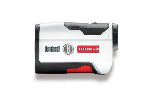 Bushnell Tour V3 Télémètre de Golf Mixte Adulte, Blanc