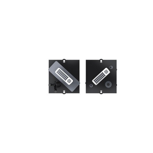 Price comparison product image Bachmann 1x DVI­-I + 3.5mm - cable interface/gender adapters (DVI-I, 3