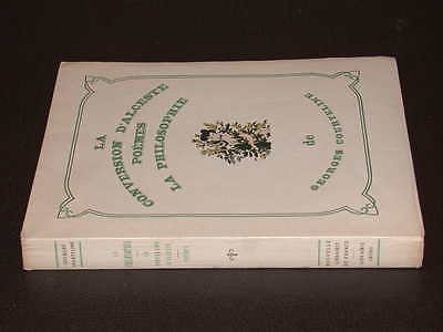 La Philosophie de Georges Courteline. La Conversion d'Alceste. Poèmes