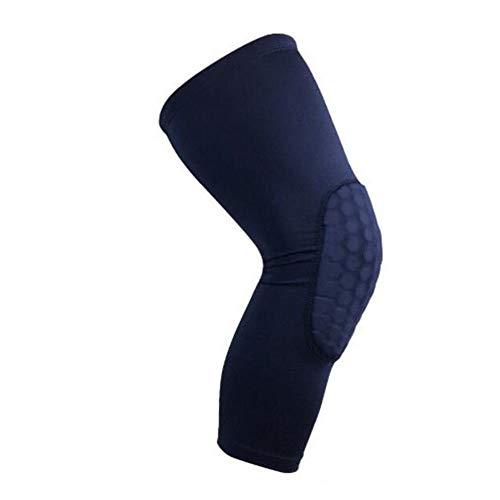 Fußball Kniebandage Anti-Rutsch-Kniebandage Superelastische, atmungsaktive Kniekompressionsmanschette Hilft Gelenkschmerzen zu lindern Arthritisches Leiden und Erholung von Verletzungen, die für den S - Fußball Motorrad Helme