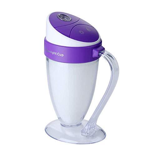 HL-PYL Luftreiniger Kreativen Kondotto Atmosfera Nightlight USB Mini Luftbefeuchter Fumava Viola (Luftbefeuchter Viola)
