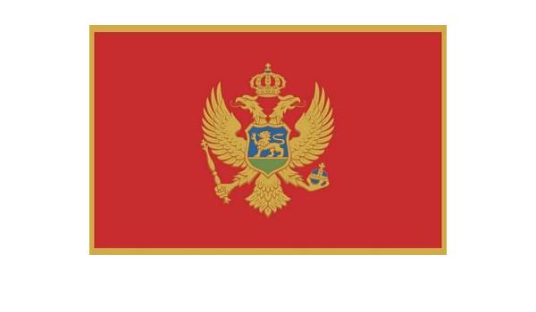 Fahnenmax Autoaufkleber Sticker Montenegro Flagge Neu Aufkleber Auto